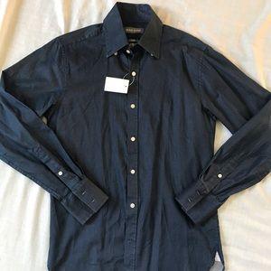 Michael BASTIAN men's dress shirt small NEW 14.5